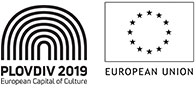 Пловдив 2019 европейска столица на културата и ЕС лого