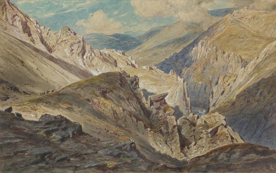 """Iskar Gorge near Cherepish Monastery"", 1885"