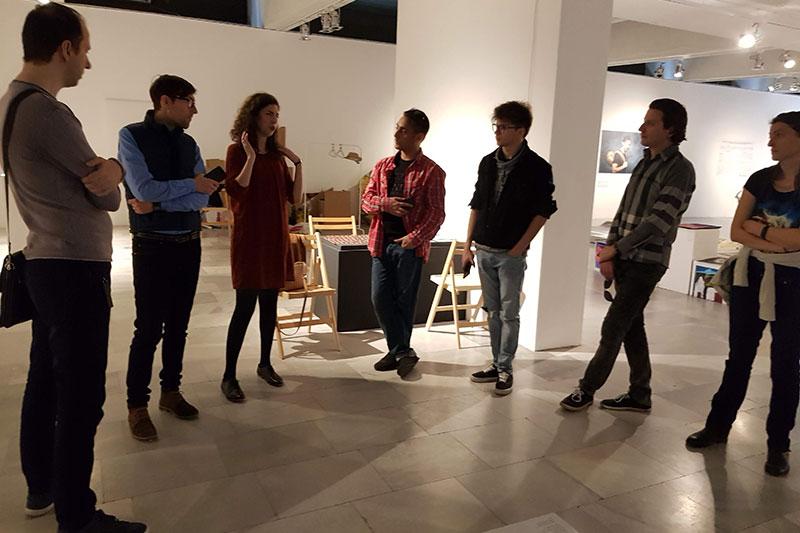 Обиколка на изложбата с гид – Георги Гочев и Александра Гочева